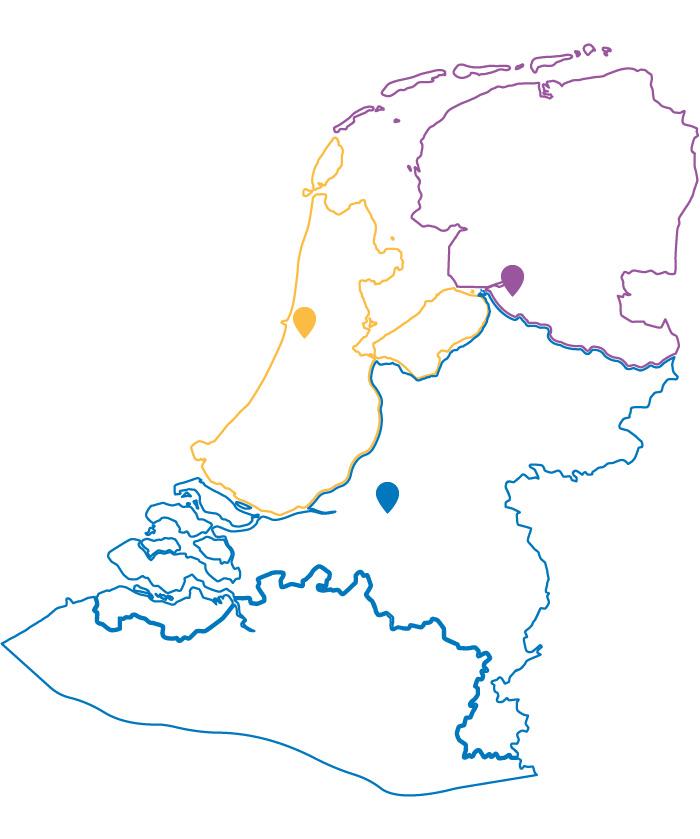 Locaties van Otelli